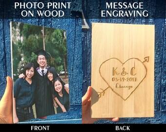 Picture on Wood, Custom Photo on Wood, Rustic Portraits, Distressed Portraits, Reclaimed Wood Photo Transfer, Wood Photo Blocks, Photo gift