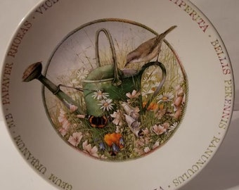 Wildflower Meadow Plate by MARJOLEIN BASTIN