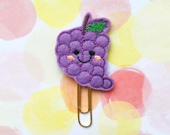 Planner Clip, Happy Grapes