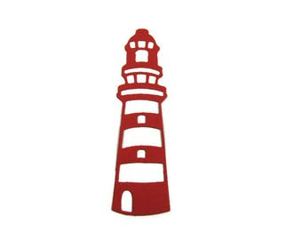 Paper Lighthouse Die Cut set of 12