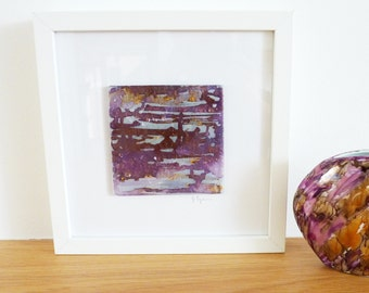 Glass Picture Recycled Fused Glass Wall Art Framed Abstract Pictures Unique Contemporary Art Glass Glass Colourful Picture Interior Design
