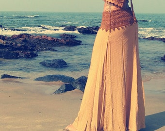 Valhalla, <>> Earthy Bohemian skirt long skirt