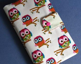 Diaper Clutch / Diaper Bag / Diaper Wipes Bag / owls