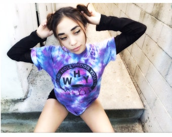 original Weird Hollywood Youth tie dye tshirt