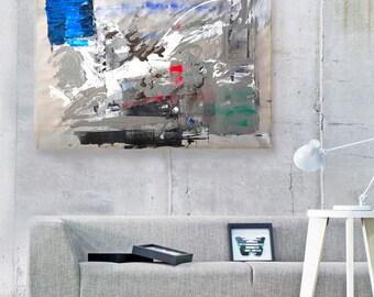 Modern Art Abstract Painting, Original Painting Canvas Art, Abstract Painting Canvas Art, Living Room Art, Large Wall Art Canvas, Fine Art
