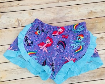 My little pony ruffle shorts size 5