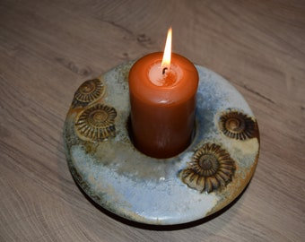 Hand Getöpferter Candle Chandelier