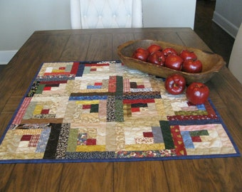CLOSE OUT SALE Log Cabin Table Topper