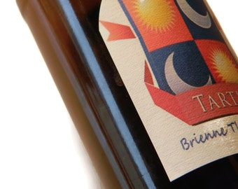 Tarth Beer Labels, Game of Thrones, Game of Thrones gift, Stocking Stuffer (Sheet of 9 labels)