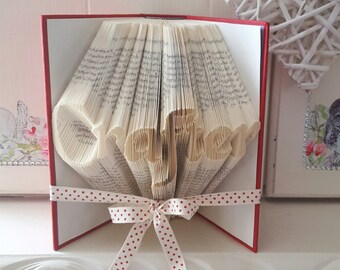 Crafter Book Folding Pattern. DIY. Make your own gift. Please read Listing. PDF Files Only.