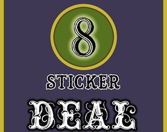 8 Sticker Combo Deal !!