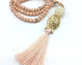 Tasbih 99 beads, Crystal Tasbih, Unique wedding favors, Wedding favors for Guests, Pearl Tasbeeh, Rustic wedding favors, Tulip shaped tasbih