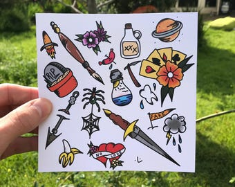 Coloured Flash Sheet