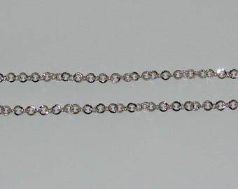 size 20cm rollo chain 5.2 mm silver matte - ref: CA 138