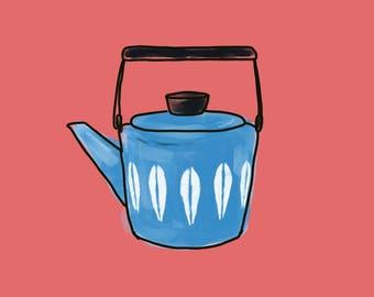 Catherine Holm teapot printable illustration (2)
