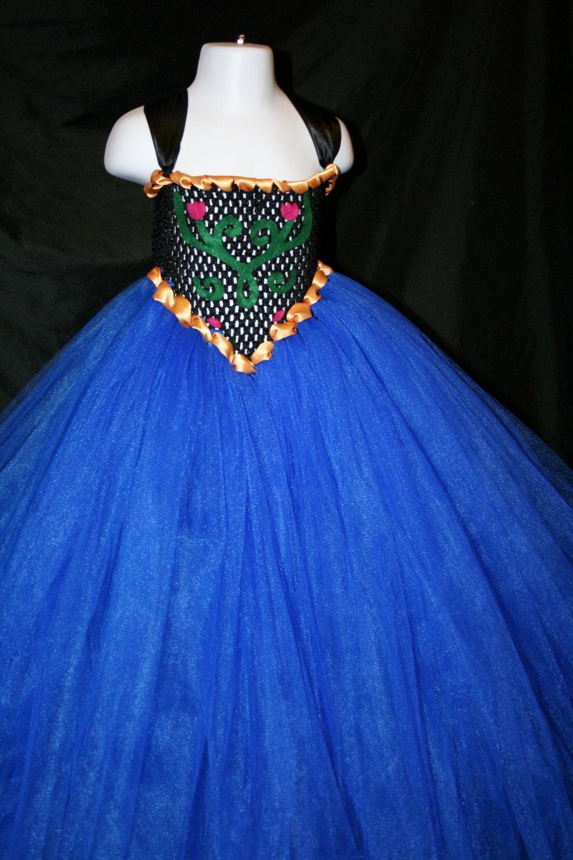 Princess Anna Inspired Tutu Dress