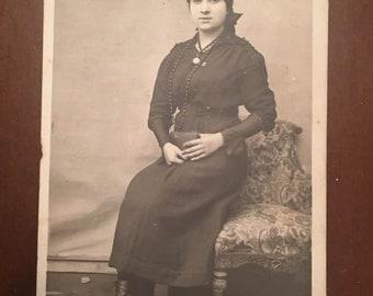 PANORMOS, Bandırma, Turkey 1918s, Greek family Photo