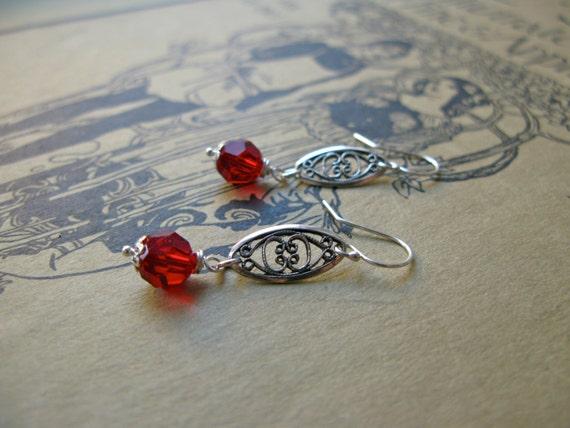 Yours Truly earrings in r...