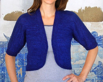 Lisbon Shrug to Knit PDF Pattern Instant Download