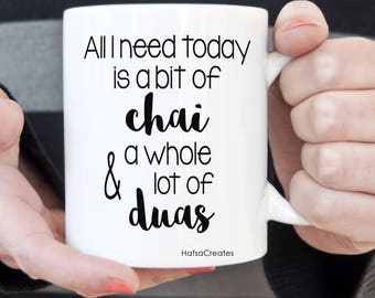 All you need is a bit of coffee (or tea) and a whole lot of duas mug
