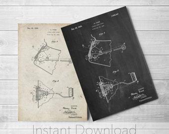 Ford Gauge Printables, Henry Ford, Car Art, Garage Decor, Automotive Art, PP0845