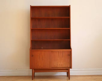 Mid Century Danish Modern Bookshelf by Johannes Sorth
