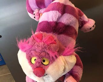 1997 Alice in wonderland chesire cat plush
