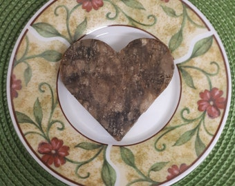 Pure African Black Soap Shampoo & Face/Body Bar (Pressed, Heart/Square)