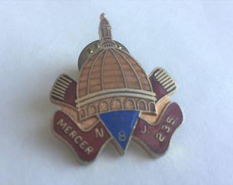 Mercer New Jersey American Legion Pin