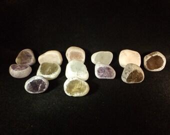 Seer Stone Window Quartz Extra large XL Scrying Stone Amethyst / Rose Quartz / Smokey Quartz / Clear Quartz