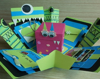 Toothy Monster Exploding Box