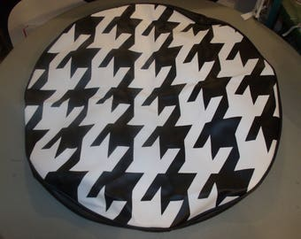 S. Corrigan Jeep Tire Cover Hounds Tooth