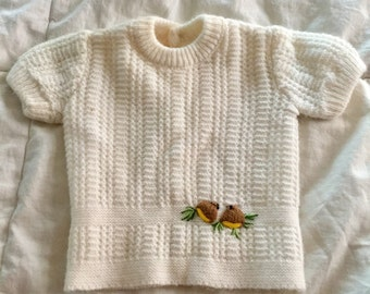 1980s Renzo (R) Knit Sweater (Baby Girls) Italy