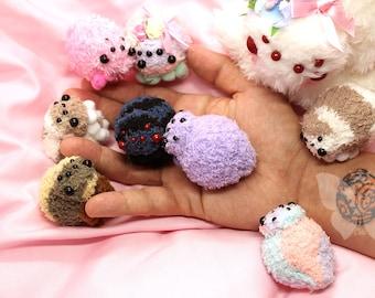 MINI Cuteness Spider animal art doll creature plushies