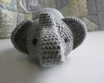 """CROCHET PATTERN -  """"Little Miss Fannie"""" the Elephant"""
