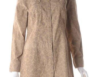 Label Sara Short Corduroy Dress