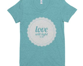 P+L+J/Love Women's Crew Neck T-shirt