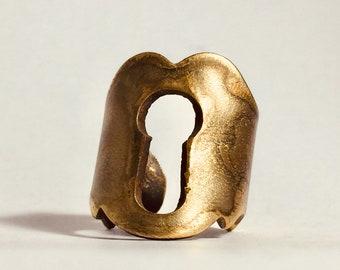 Heart Lock Ring Oct/Ant