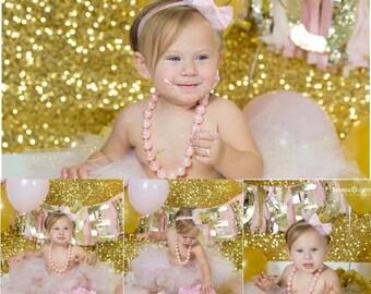 Pink & Gold Princess Tutu Set
