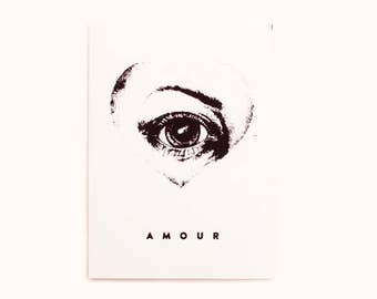 Amour Greeting Card