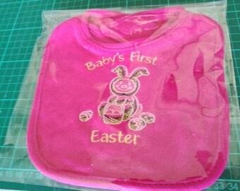 Babies first Easter bib