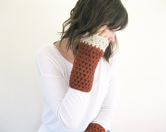 Knit Fingerless Gloves | Outlander Knits | Texting Gloves | Crochet Hand Warmers | Wrist Warmers | Christmas Gift