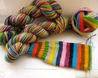 Mind The Gap self striping sock yarn **pre order**