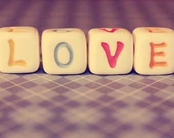 All You Need Is Love:  8x10 fine art photography print