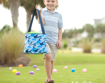 Easter Basket, Personalized Easter Bucket, Free Shipping, TOP SELLER, Cool Camo Easter Bucket