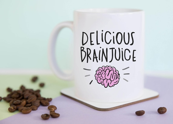 Delicious Brainjuice Coffee Mug with gift box