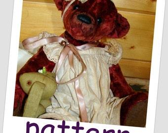 """Pattern Bear """"Lucy"""" 14inch"""