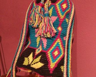 Crochet bag Wayoo, wayoo crochet backpack, crochet backpack