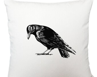 Cushions/ cushion cover/ scatter cushions/ throw cushions/ white cushion/ crow cushion cover