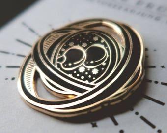 Harry Potter Time Turner Hard Enamel Pin